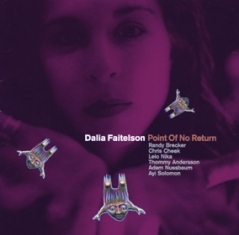 Dalia Faitelson - POINT OF NO RETURN - Front Cover