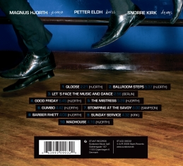 Magnus Hjorth - Old New Borrowed Blue - Back Cover