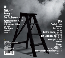 Scott Hamilton Scandinavian Five - Live at Nefertiti - Back Cover