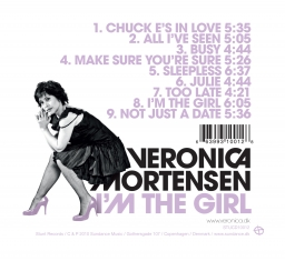 Veronica Mortensen - I'm The Girl - Back Cover