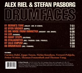 Stefan Pasborg & Alex Riel - Drumfaces - Back Cover