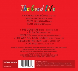 Christina Von Bülow, Søren K - The Good Life - Back Cover