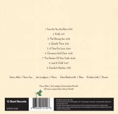 Harry Allen / Jan Lundgren Quartet - Quietly There - Back Cover