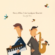 Harry Allen / Jan Lundgren Quartet - Quietly There - Front Cover