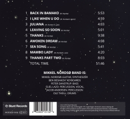 Mikkel Nordsø Band - DIVING IN SPACE FOR 3 DECADES - Back Cover