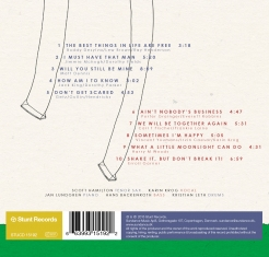 Scott Hamilton - Karin Krog - THE BEST THINGS IN LIFE - Back Cover