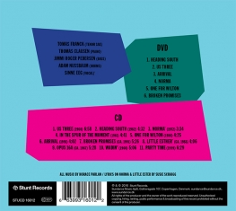US4 - MY SCANDINAVIAN BLUES A TRIBUTE TO HORACE PARLAN - Back Cover