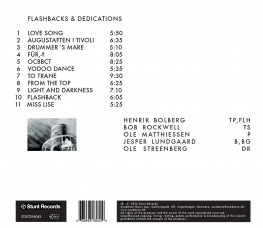 Ole Matthiessen - FLASHBACKS & DEDICATIONS - Back Cover