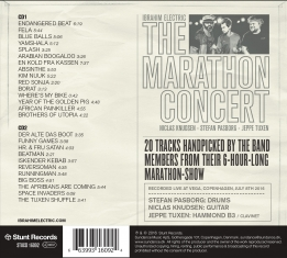 Ibrahim Electric - THE MARATHON CONCERT - Back Cover