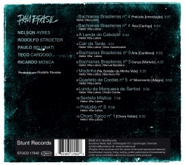 Pau Brasil & Ensemble SP & Renat - VILLA-LOBOS SUPERSTAR - Back Cover