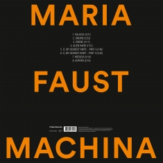 Maria Faust - MACHINA - Back Cover