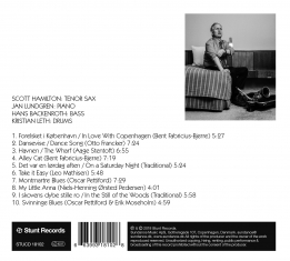 Scott Hamilton - Danish Ballads ...& More - Back Cover