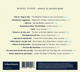 Mikkel Ploug - Balcony Lullabies - Back Cover